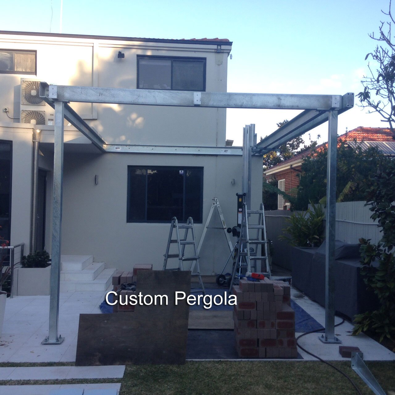 Custom-Steel-Fabricated-Pergola