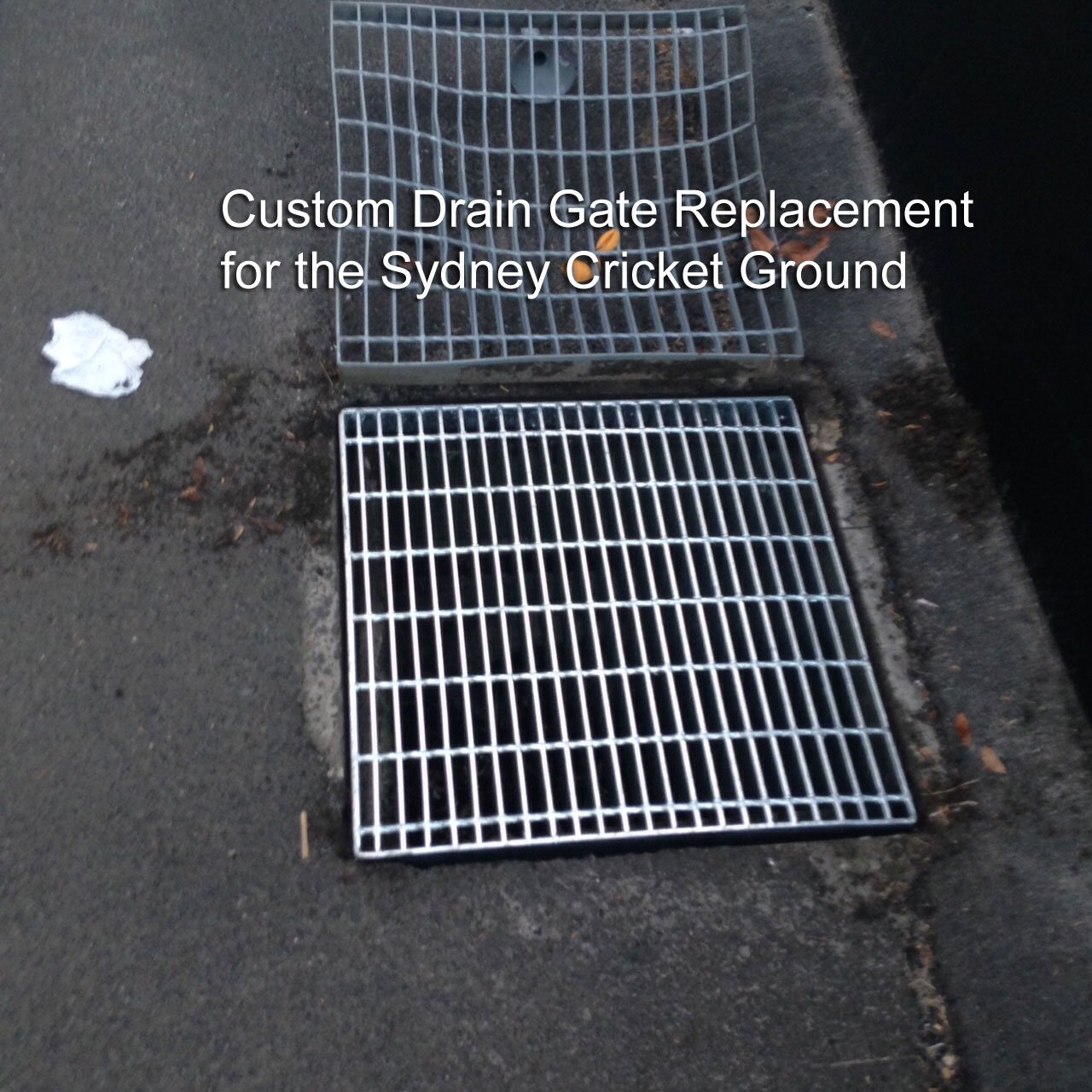 Steel-Fabricated-Drain-Gate