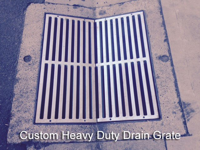 Custom-Heavy-Duty-Drain-Grate