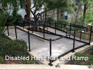 Disabled-Hand-Rail-and-Ramp-top-view